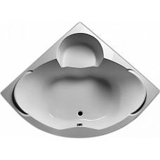 Ванна акриловая Marka One Trapani 140x140 см в комплекте с каркасом