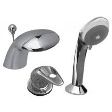Встроенный смеситель Кобра Vega для ванн Aquatek