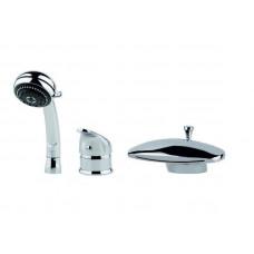 Встроенный смеситель Ниагара Vella Vega для ванн Aquatek