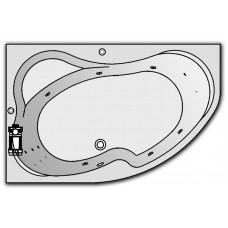 Гидромассажная комплектация OPTIMA для ванны Kolpa-San LULU L/R