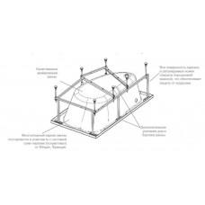 Монтажный комплект для ванны Roca Welna 160x100 ZRU9302999