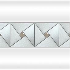 """Декоративная отделка вертикальной вставкой """"Арт-мозаика"""" фронтальной панели к ванне Тахарат Fra Grande."""