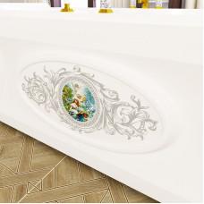 Декоративная эмблема на фронтальную панель к ванне Фернандо Fra Grande.