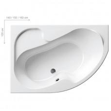 Ванна акриловая Ravak Rosa I 140x105 L левая