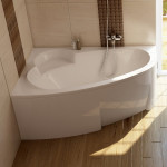Ванна акриловая Ravak Asymmetric 150X100 L левая