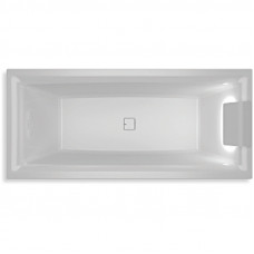 Ванна акриловая Riho Still Square 180x80 см светодиоды и подголовник справа в комплекте BR0100500K00130