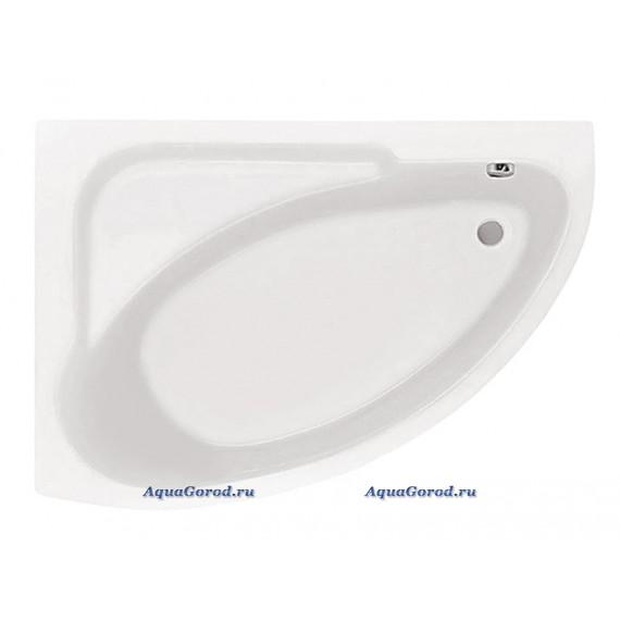 Ванна акриловая Santek Гоа 150х100 см левая