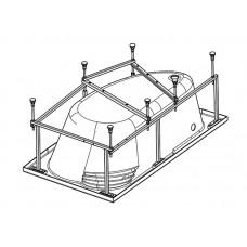 Монтажный комплект для ванны Santek Гоа 150х100 1WH112428