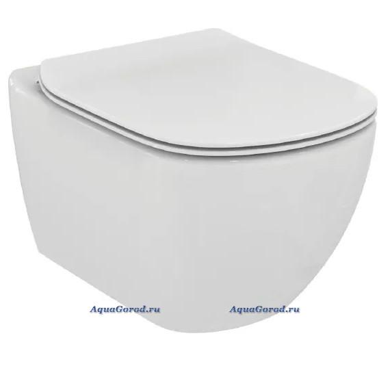 Унитаз подвесной Ideal Standard Tesi AquaBlade с сиденьем микролифт T355101