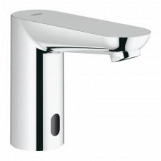 Вентиль для раковины GROHE Euroeco CE, инфракрасный, без функции смешивания воды, работа от батарейки, хром 36271000