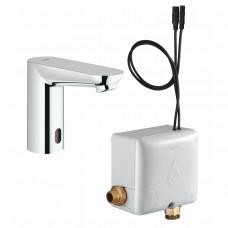 Вентиль для раковины GROHE Euroeco CE, инфракрасный, без функции смешивания воды, с энергонакоплением, хром 36384000