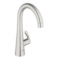 Вентиль Grohe Zedra для кухни,вертикальный, без функции смешивания воды, нержавеющая сталь 30026SD0