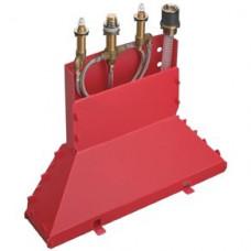 Скрытая часть Hansgrohe для смесителя на борт ванны (4 отверстия) артикул 13444180