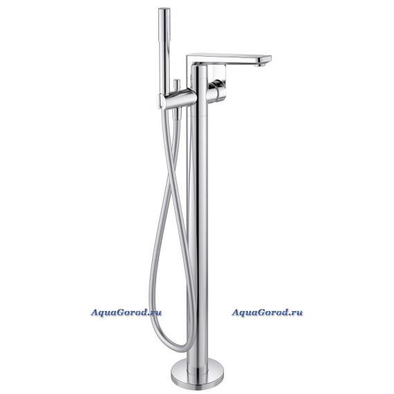 Смеситель Ideal Standard Tonic II напольный для ванны c душевым гарнитуром хром A6347AA