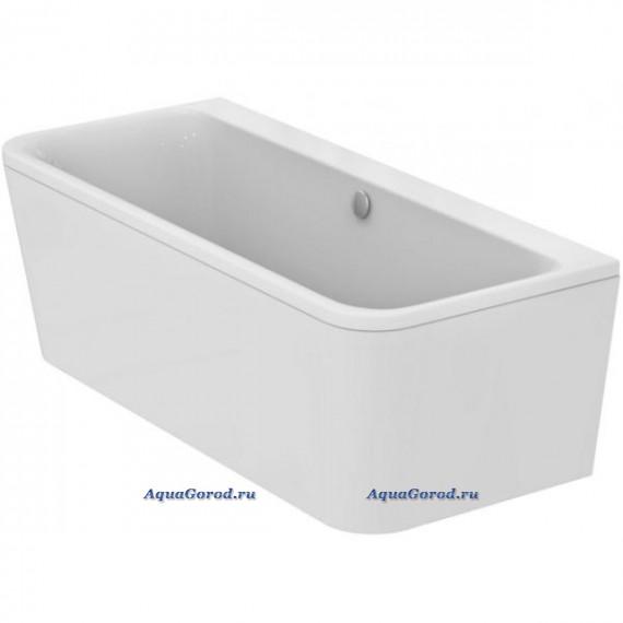 Акриловая ванна Ideal Standard Tonic II D-Shape пристенная 180х80 с акриловой панелью E399601