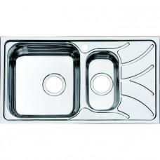 Мойка Iddis Arro S нержавеющая сталь полированная 780*440, основная чаша слева ARR78PXi77
