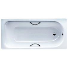 Ванна стальная Kaldewei Saniform Plus Star 180х80x41см 3,5 мм с отверстиями для ручек