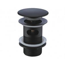 Донный клапан WasserKraft Push-up черный A080