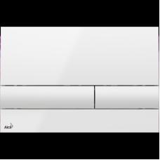 Клавиша для инсталляции AlcaPlast белая M1710