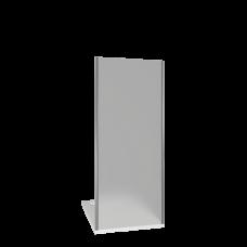 Боковая стенка BAS Infinity SP-80-G-CH неподвижная рифленое стекло 80 см