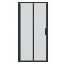 Дверь в нишу Bravat Blackline 90х200 складная BD100.4121B