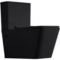 Унитаз-компакт CeramaLux 2171MB черный матовый с бачком и сиденьем микролифт