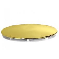 Декоративная крышка сифона Cezares TRAY-COVER-G цвет золото