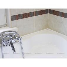 Бордюр для ванн и поддонов Aquanet белый