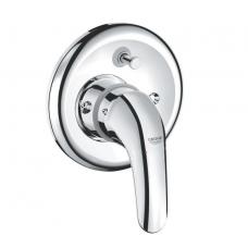 Смеситель Grohe Euroeco для ванны включает встроенный механизм 32747000