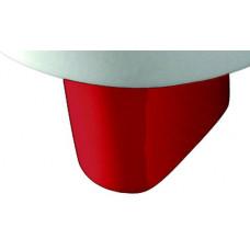 Полупьедестал Sanita Luxe Best Color Red для умывальника Красный