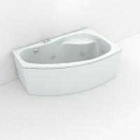 Акриловые ванны угловые асимметричные