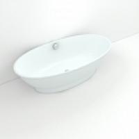 Круглые и овальные акриловые ванны