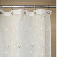 Шторы на карниз для ванной комнаты