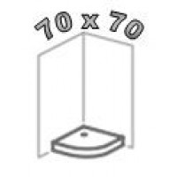 Душевые поддоны 70х70, поддоны 70 на 70 для душа