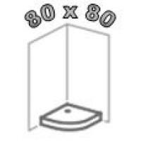 Душевые поддоны 80х80, поддоны 80 на 80 для душа