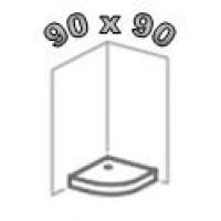Душевые поддоны 90х90, поддоны 90 на 90 для душа