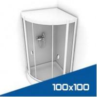 Душевые кабины 100х100