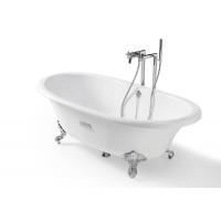 Овальные чугунные ванны