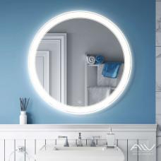 Зеркало Alavann Solis 80 со встроенной подсветкой