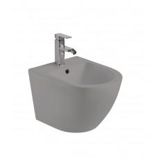 Биде подвесное Weltwasser Merzbach серый матовый MERZBACH 005 MT-GR