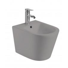Биде подвесное Weltwasser Salzbach серый матовый SALZBACH 005 MT-GR