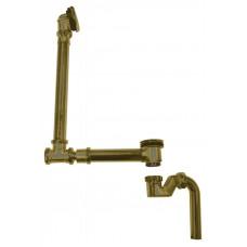 Гидрозатвор Belbagno к слив-переливу для ванны бронза BB567-OVF-BRN