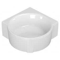 Ванна акриловая Cezares Fi Corner круглая угловая 160х160 см FI CORNER-160-160-49