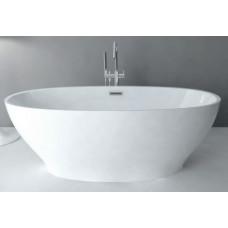 Акриловая ванна Abber отдельно стоящая 165х80 AB9207
