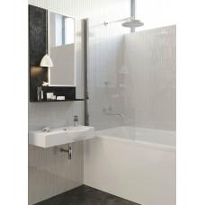Душевая шторка Alpen на ванну фиксированная 80х150 A170N-80