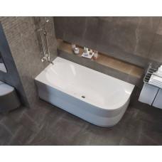 Акриловая ванна Alpen Astra 165х80 L левая