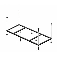 Каркас металлический для ванны Alpen 170x110