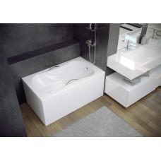 Акриловая ванна Besco Aria Rehab 120x70 + фронтальная панель