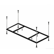 Каркас металлический для ванны Alpen 160x105