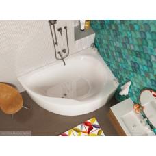 Акриловая ванна Alpen Dallas 160х105 R правая